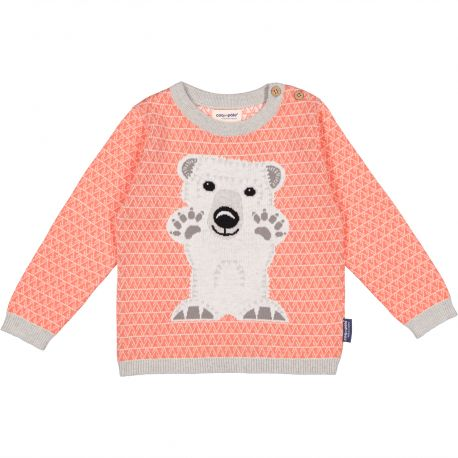 Pull tricot ours polaire