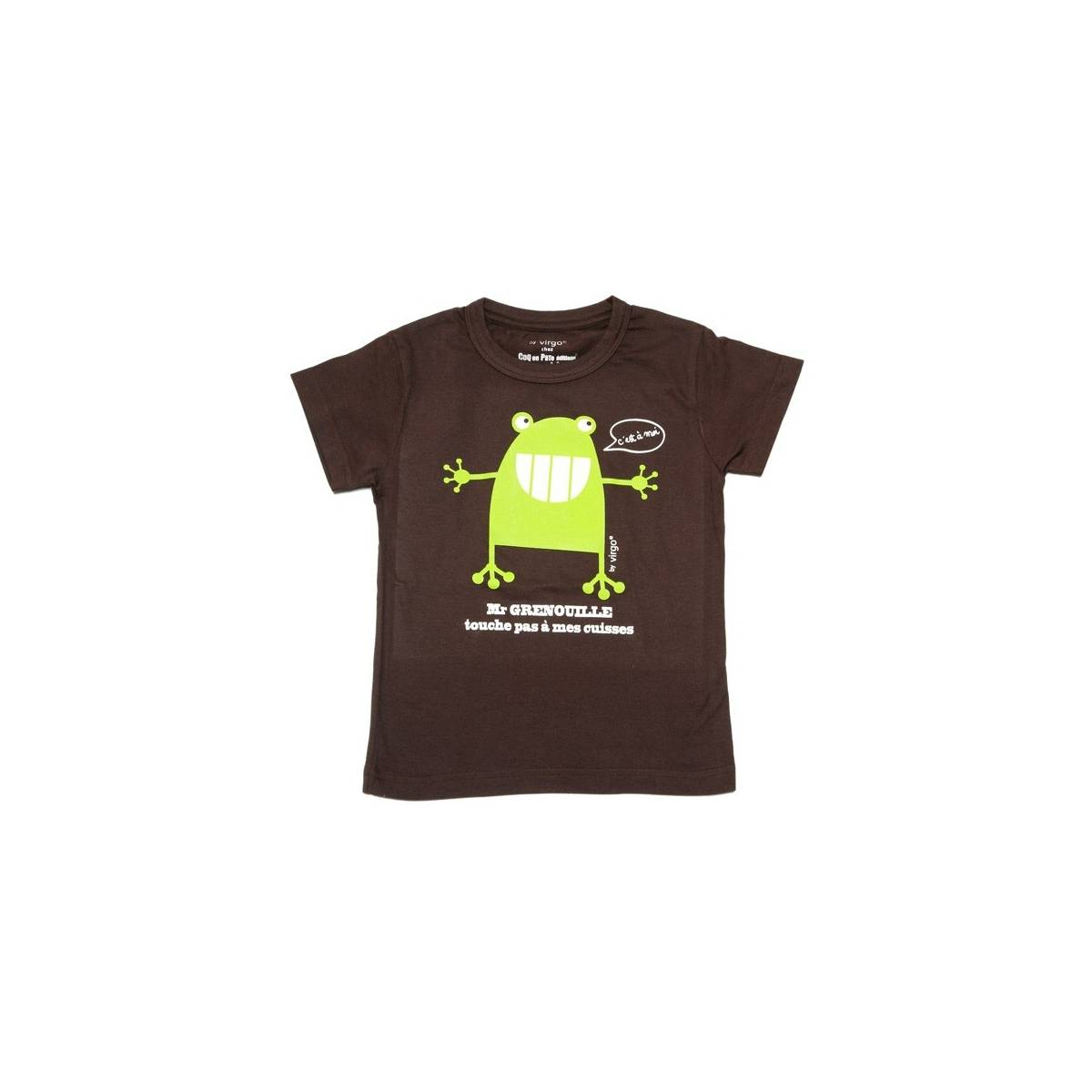 T-shirt grenouille by Virgo