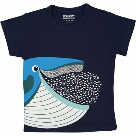 Whale baby t-shirt