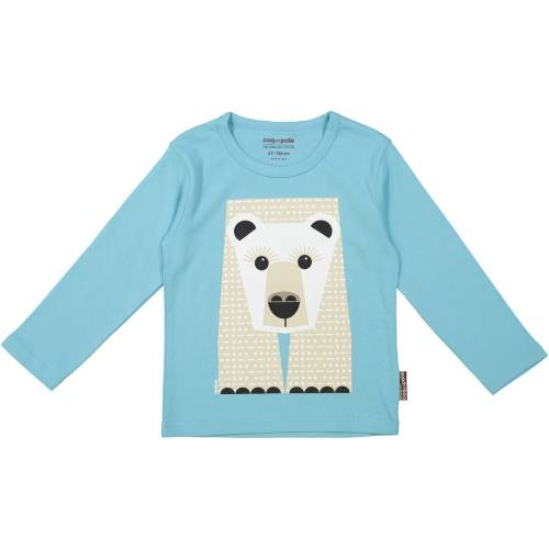 Polar bear long sleeves t-shirt