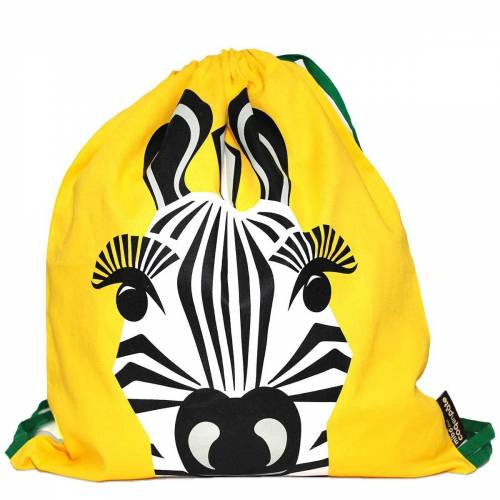 Zebra activity bag