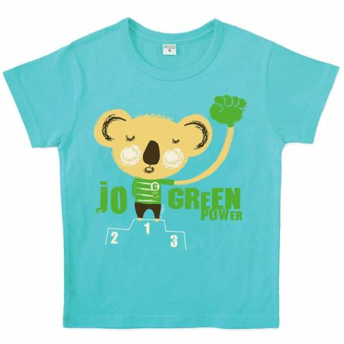 Blue koala t-shirt by Virgo