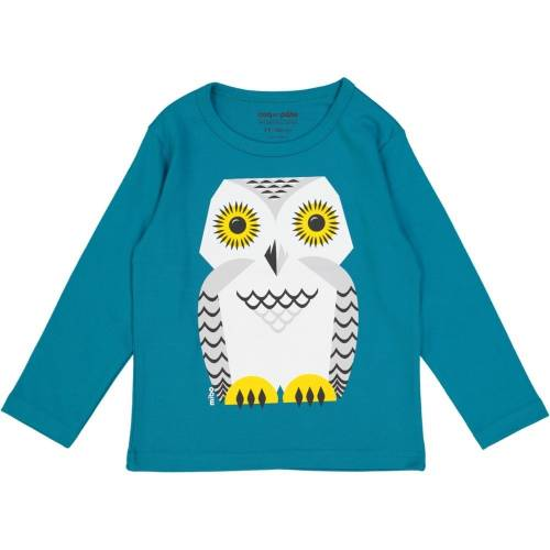 Snowy owl long sleeves t-shirt