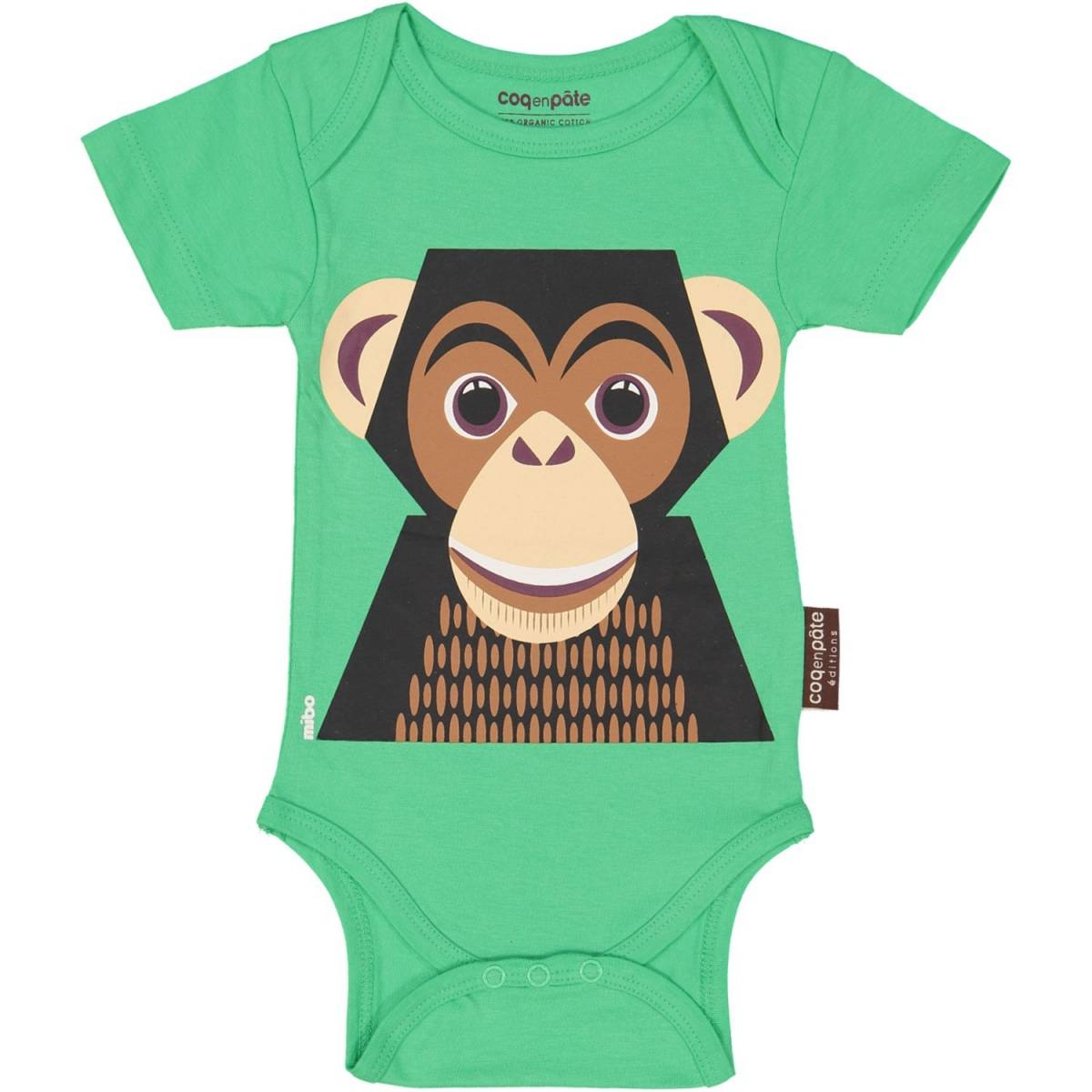 Chimpanzee short sleeved body