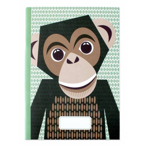 Chimpanzee A5 notebook