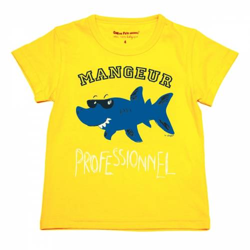 T-shirt requin by Virgo