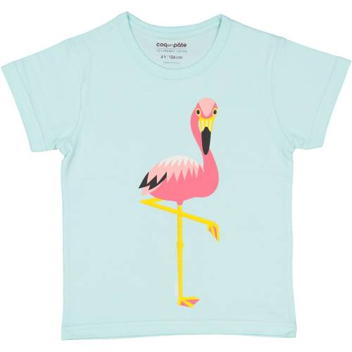 T-shirt flamant rose