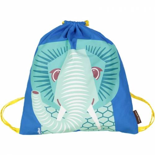 Blue elephant activity bag